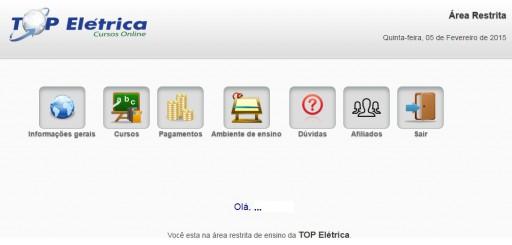 Ambiente de Ensino curso NR10 Online