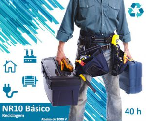 Curso NR10 Básico Reciclagem 40h- Top Elétrica