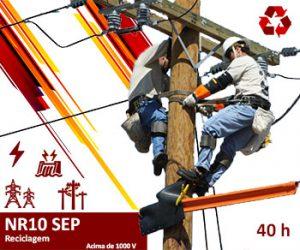 Curso NR10 SEP Reciclagem - Top Elétrica